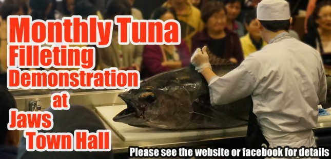 Monthly Tuna Filleting Demonstration